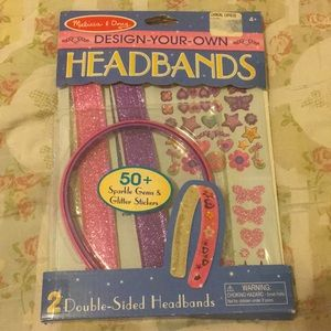 Melissa and Doug design your own headband
